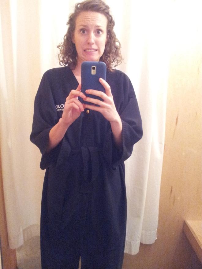 haircut robe
